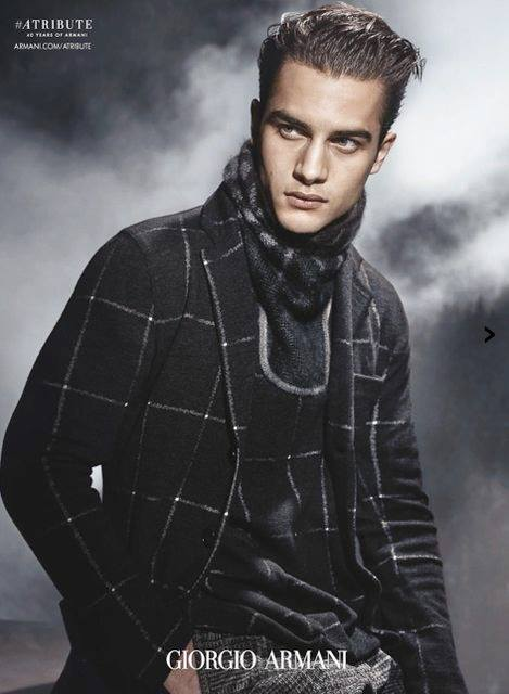 Giorgio Armani Fall/Winter 2015 Menswear Campaign