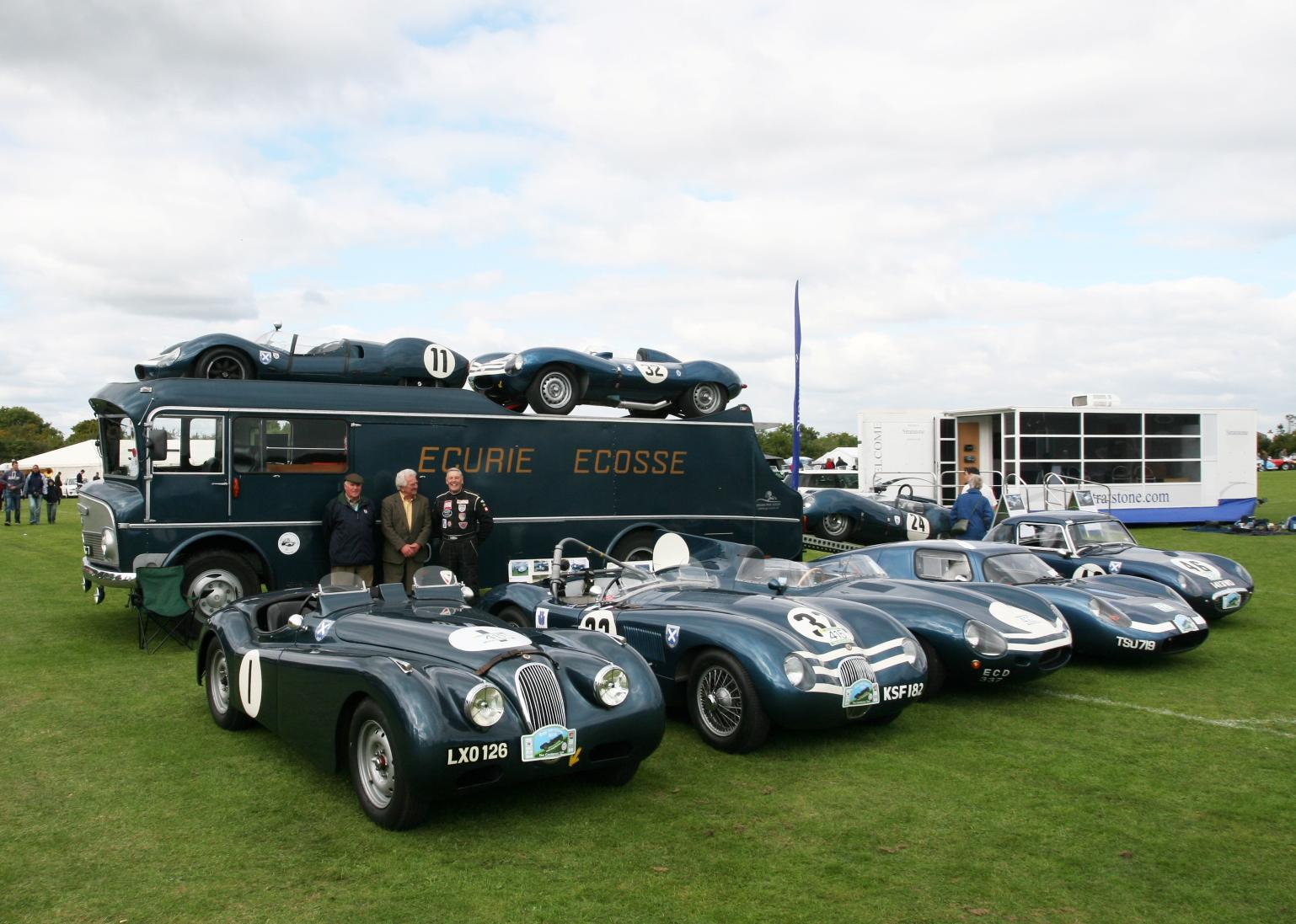 Ecurie Ecosse Transporter At