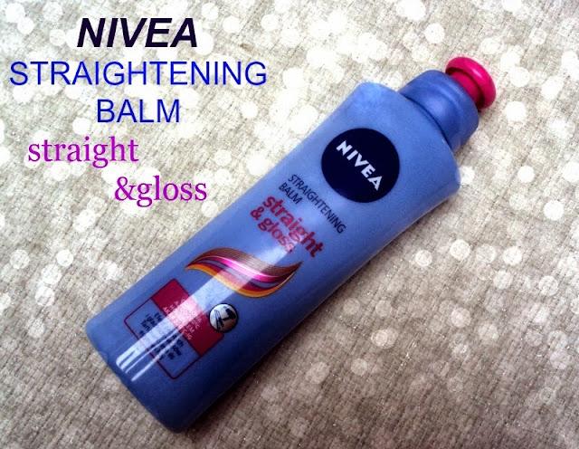 Nivea, Straight & Easy, Balsam prostujący włosy falujące i puszące się.