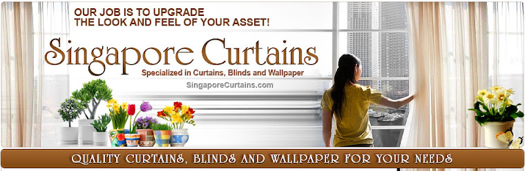 Curtains Blinds Wallpaper Singapore