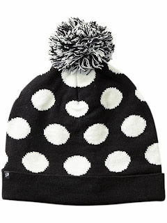 Plush Polka Dot Hat