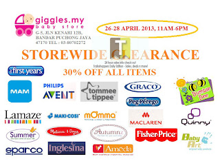 Giggles Clearance Sale 2013