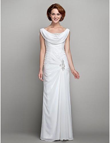 Vestido de Madrina Blanco Largo