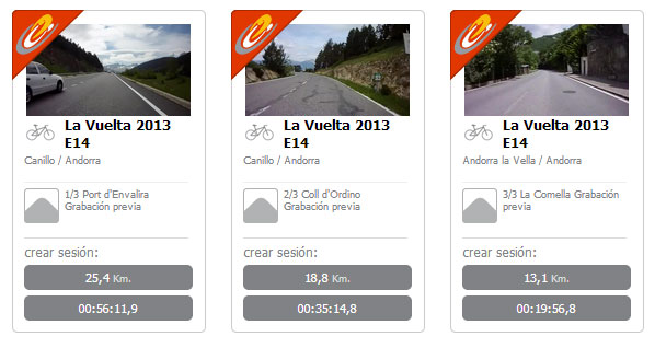 BKOOL Video real La Vuelta 2013. Etapa 14 Pirineos
