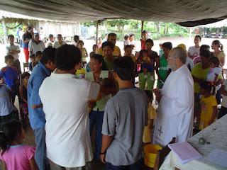 Misioneros españoles en la misión