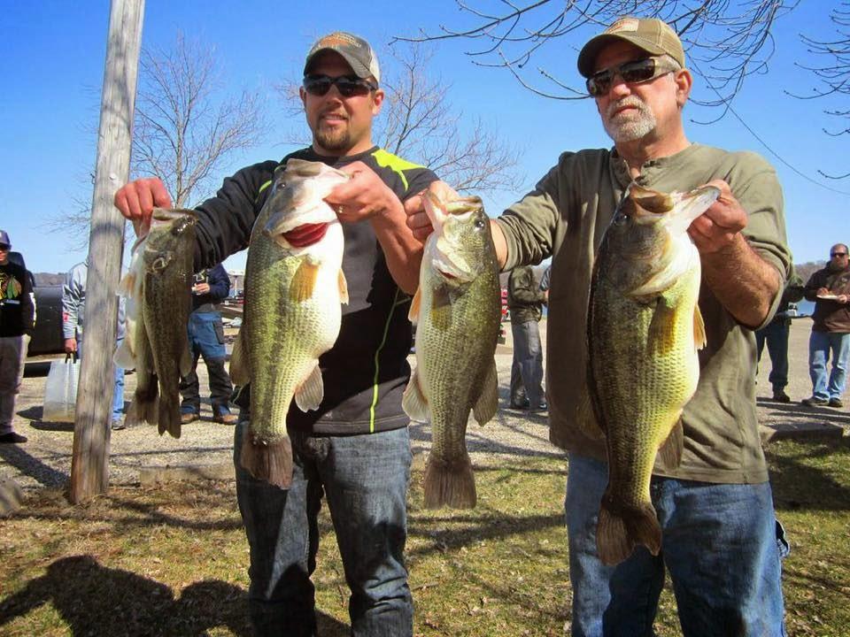 Bass fishing tournaments presleys outdoors icc open bass for Michigan bass fishing tournaments