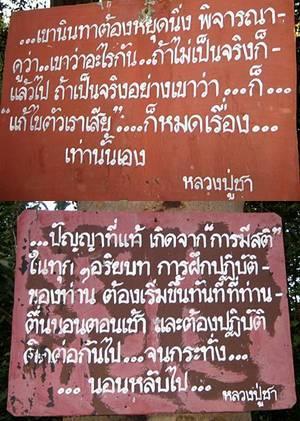 เซียมซีพุทธ อนุสาสนีปาฏิหาริย์ อำนาจ โอภาโส พระครู หลวงพ่อ ธรรมะ อาจารย์ชา หลวงพ่อชา ปฏิบัติ สติ dhamma arjarn cha ajarn buddhism dharma