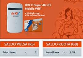 Isi Pulsa Blot Modem 4G LTE