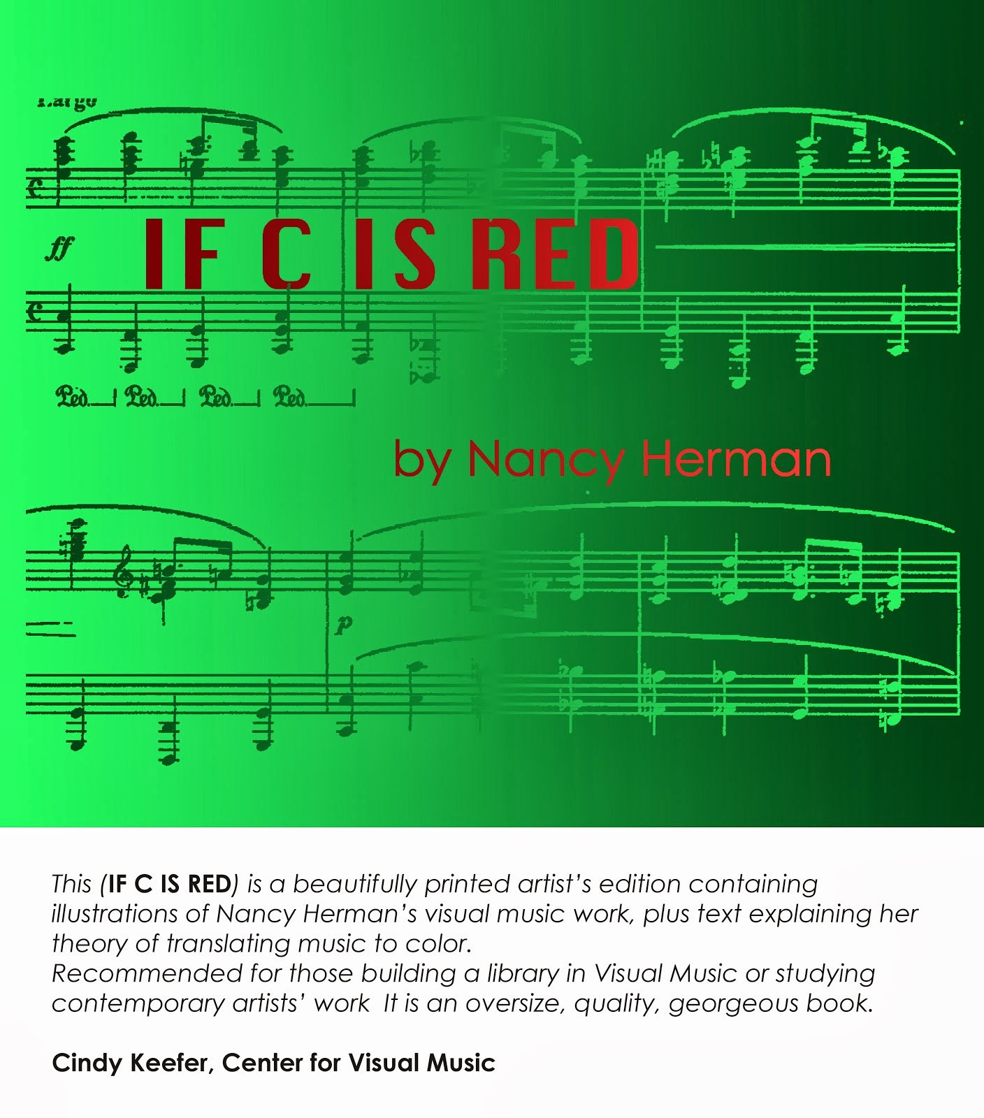 Nancy Herman's Book: IF C IS RED