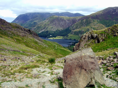 Grasmoor and Buttermere from Scarth Gap