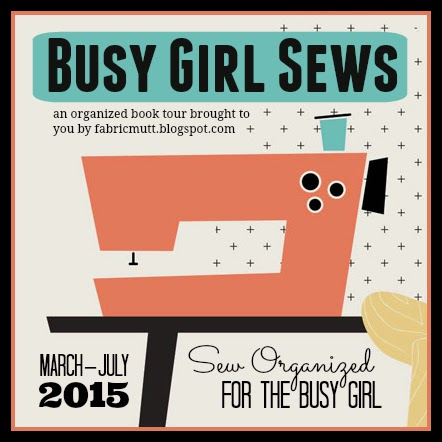 Busy Girl Sews Tour for Sew Organized for the Busy Girl by Heidi Staples