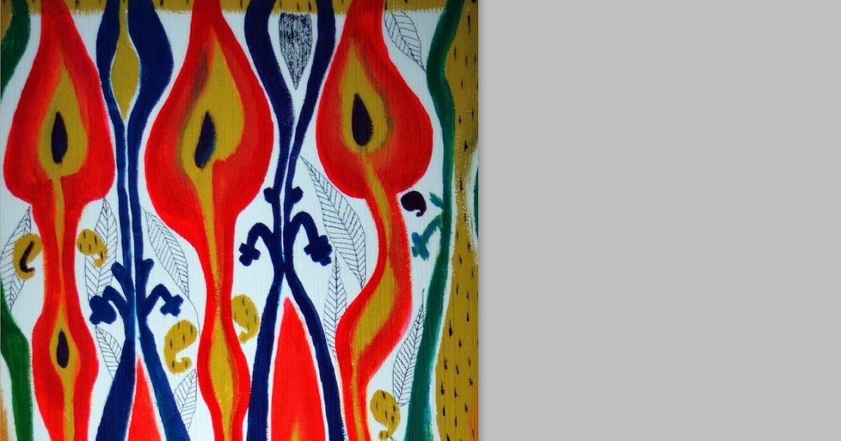 Canavāsium A Colorful Drama Repurposed Closet Door