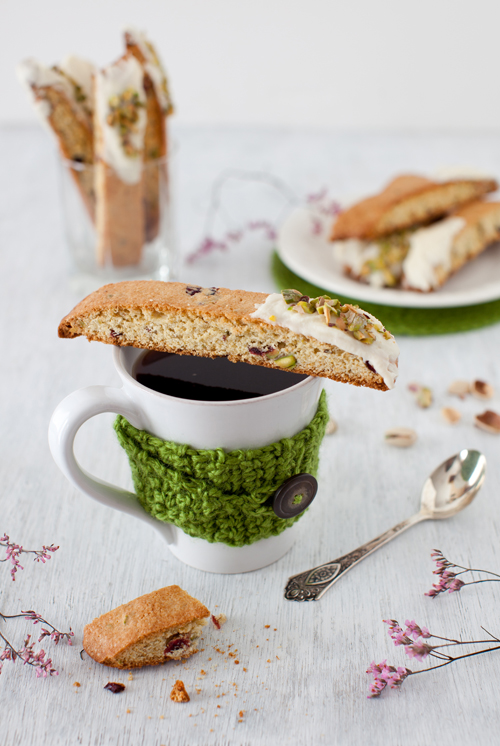 orange biscotti with cranberries and pistachios — three many cooks