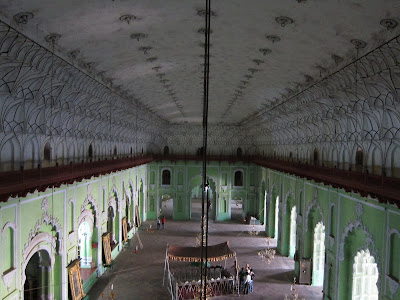 Lucknow Bara Imambara great hall