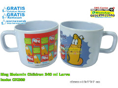 Mug Melamin Children 240 Ml Larva