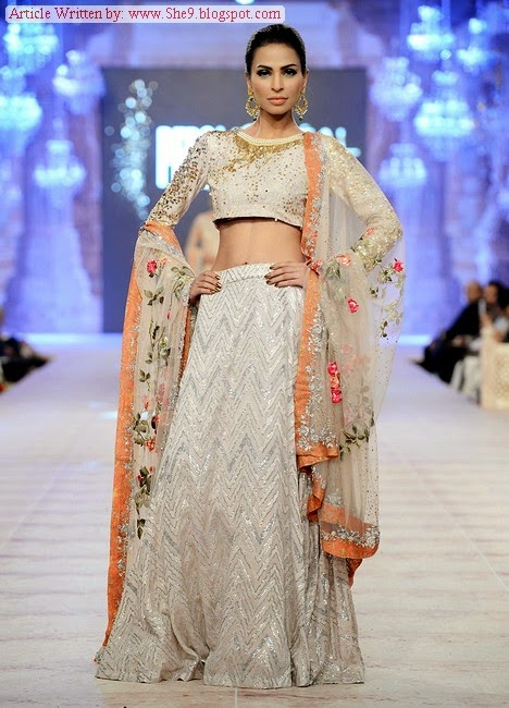 Sania Maskatiya Bridal Wear at PFDC L`Oreal Paris Bridal Week 2014-15