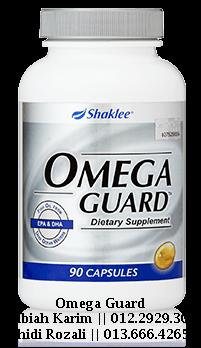 omega guard shaklee untuk wanita menopause