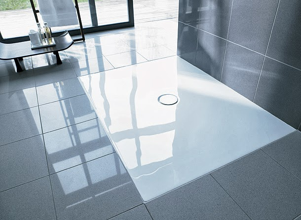 Marzua duraplan plato de ducha a ras de suelo de frank for Platos de ducha a ras de suelo