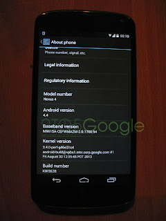 About Android 4.4 KitKat