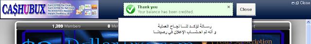 الشركة المصرية الصادقة cashubux ptc9.png