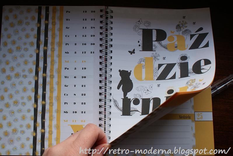 kalendarz Kubuś Puchatek Biedronka