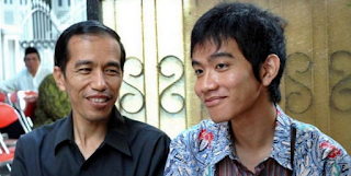 Foto Jokowi dan Gibran