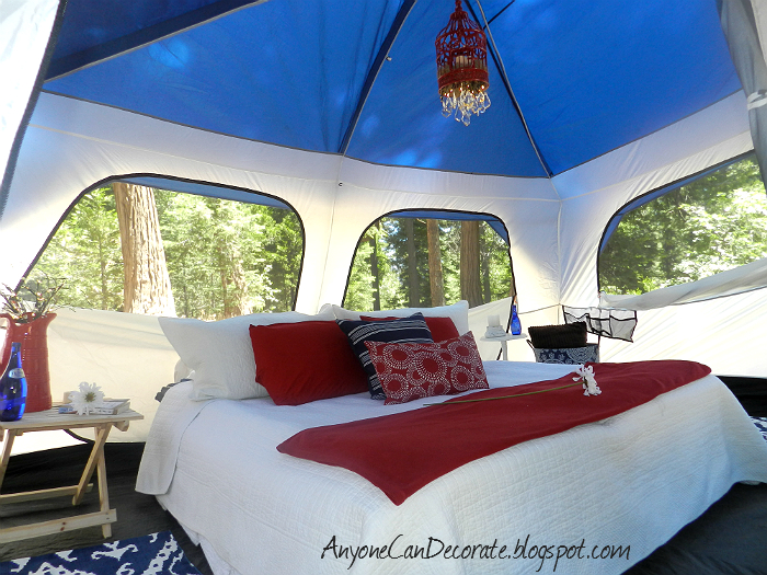 Anyone Can Decorate A GLAMPING We Will Go Glamorous