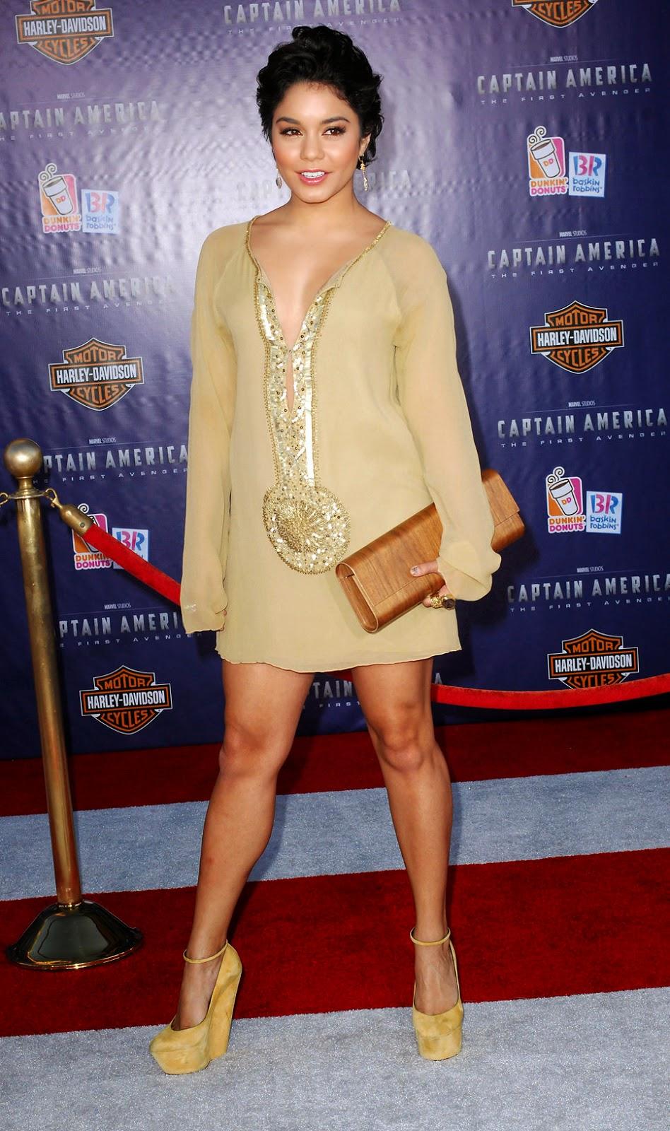 Vestidos de fiesta de Vanessa Hudgens