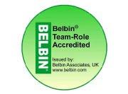 Acreditado en la utilización de los roles Belbin