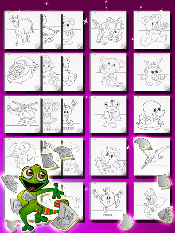 coloring book ios kids coloring book for iphone ipod touch and ipad apps