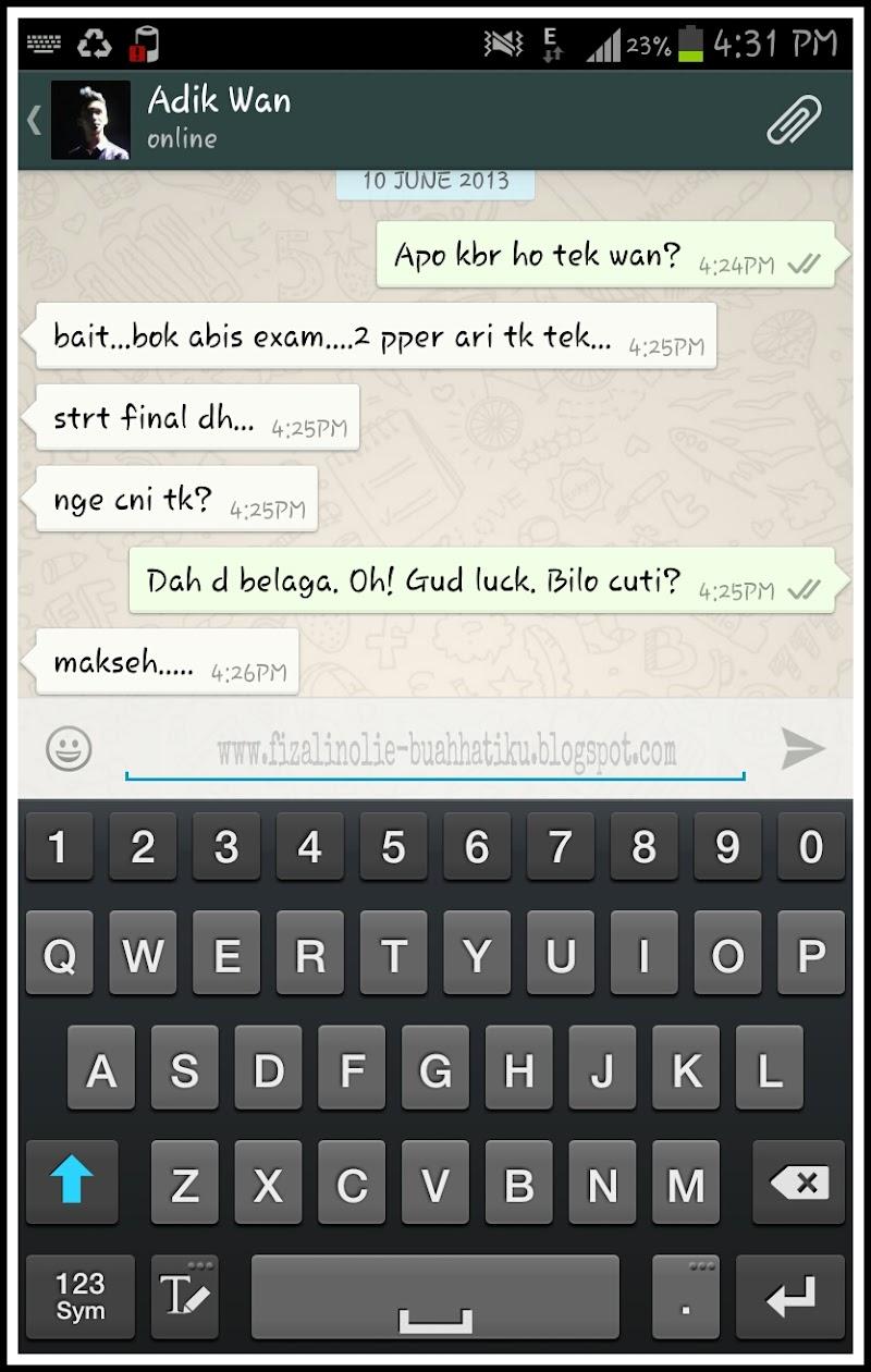 Kelebihan Whatsapp Di Mata Aku