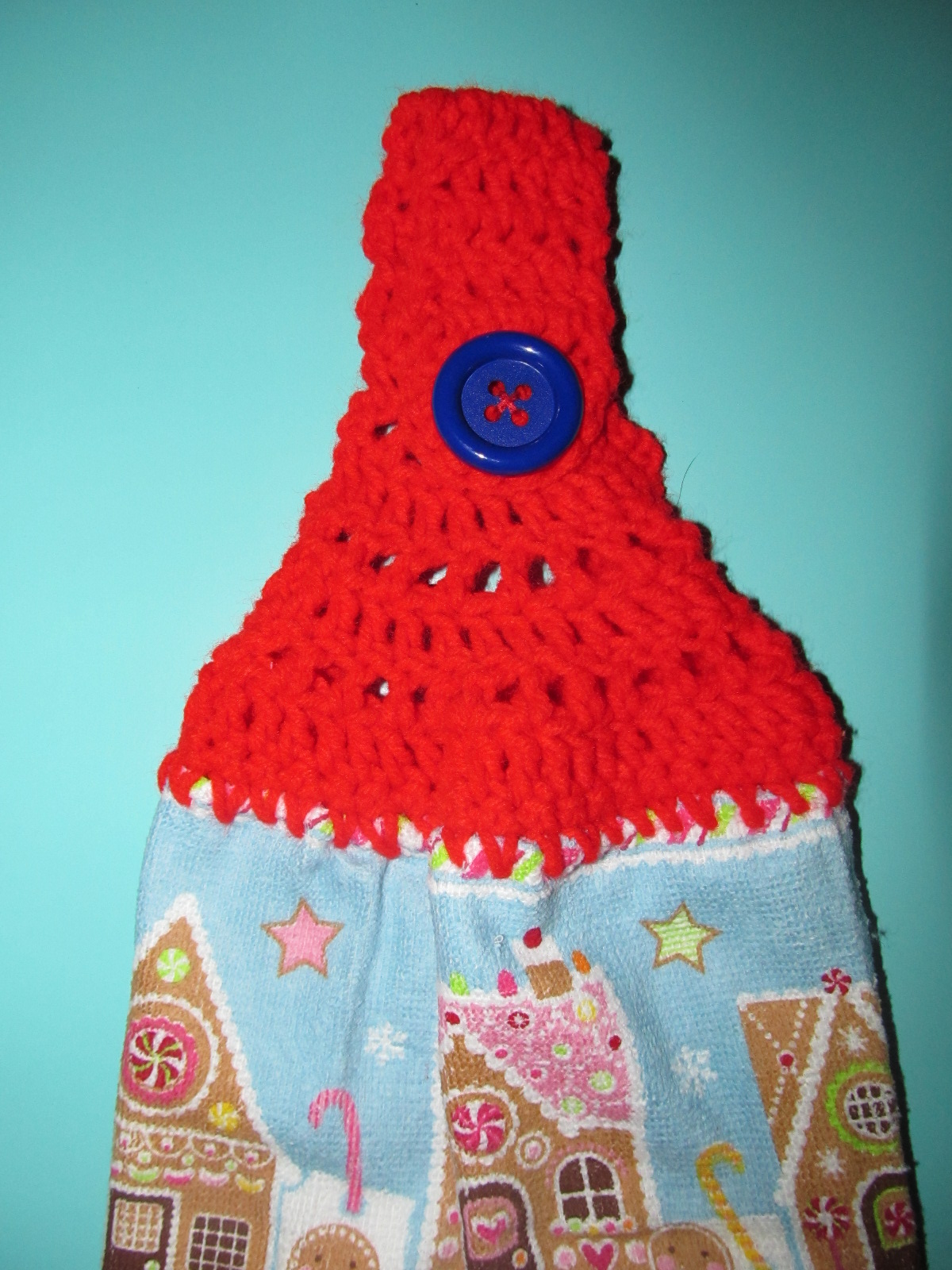 Crochet Dish Towel Topper Pattern Best Decorating Design