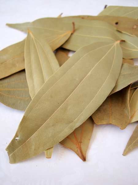 Happy home cooking - Cook bay leaves ...