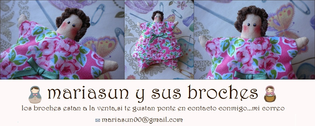mariasun y sus broches