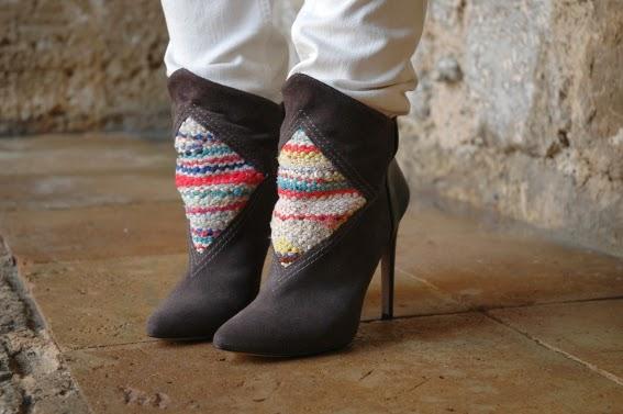 Precioso botín Howsty estilo navajo