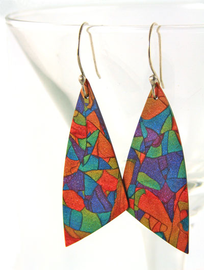 pct blend and switch earrings Homemade Polymer Earrings