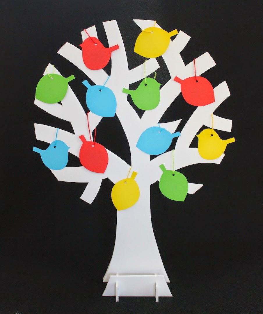 Hilde haakt wensboom maken - Een houten boom maken ...