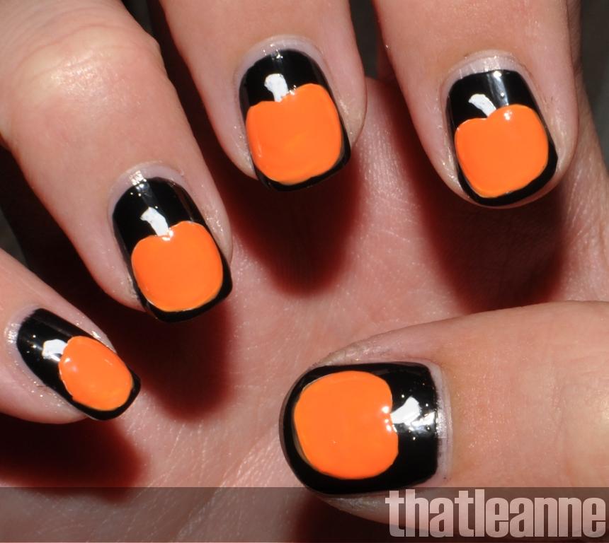 thatleanne: OPI Spookettes Halloween 2011 and Jack o\'lantern nail art!