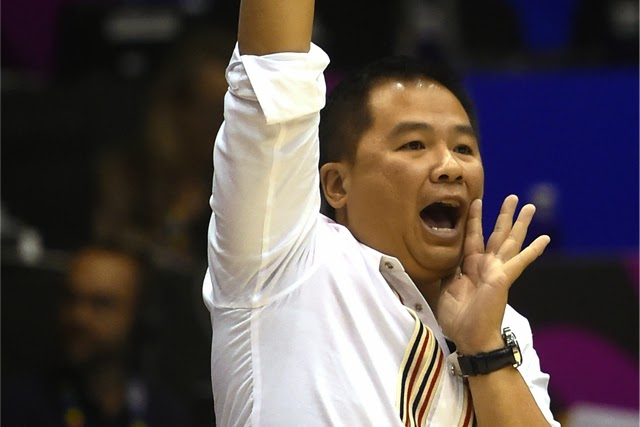 Gilas Coach Chot Reyes apologizes to Filipinos over Asian Games loss