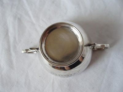 CURLING CLUB TROPHY STERLING SILVER LONDON 1905