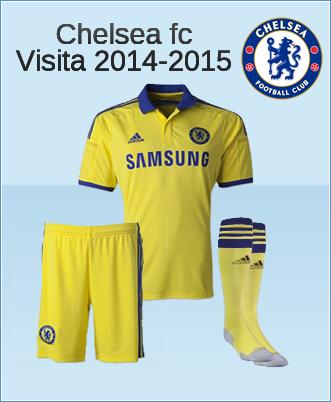 Uniformes de Futbol 2015::::: Chelsea Regresa al tradicional Amarillo ...
