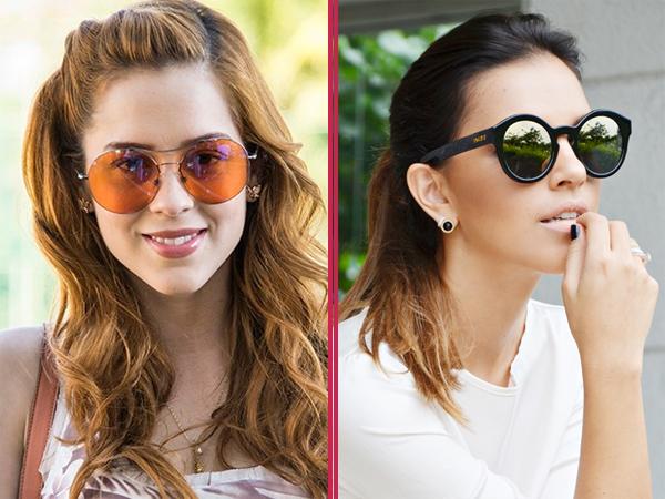 Óculos Redondo Tendência Moda Sunglasses Fashion Famosas