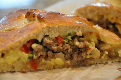 photo of Jalapeno Egg Sausage Braid