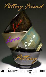 """Selo Potter Friend -""""Amigo da Cerâmica"""""""