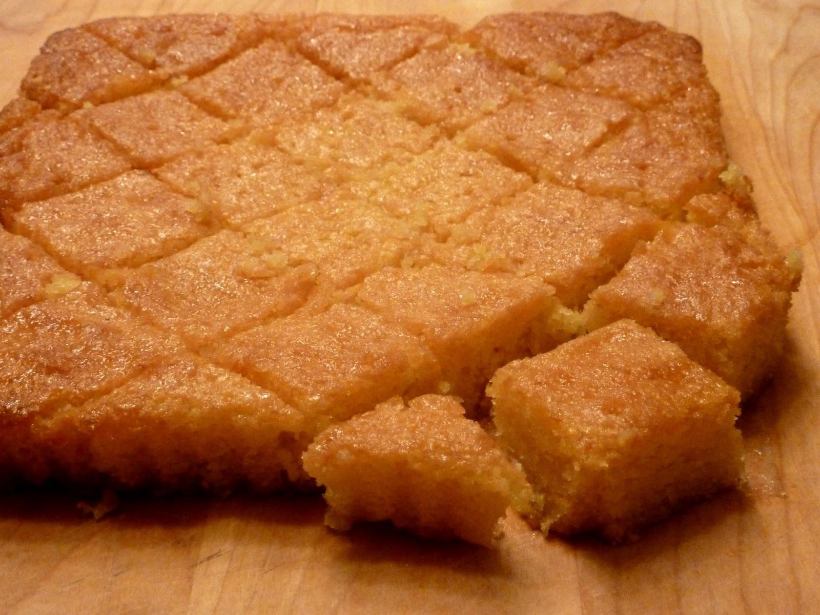 Cracked Pepper: Lemon Polenta Cake