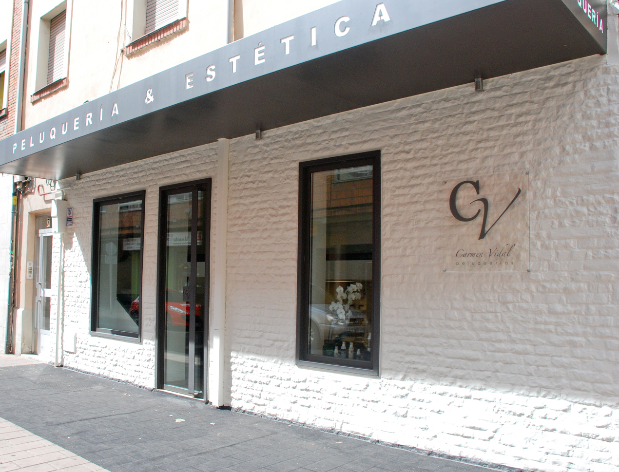 Carmen vidal peluquer as el centro - Fachadas de peluquerias ...