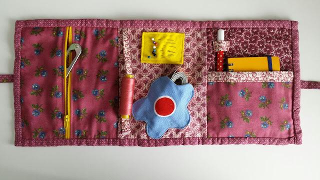 portabel diy sewing kit