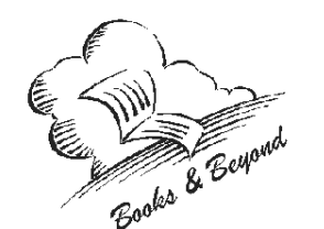 Books and Beyond line drawing from Cavan Monaghan Library site for Millbrook and Cavan Libraries Book on cloud