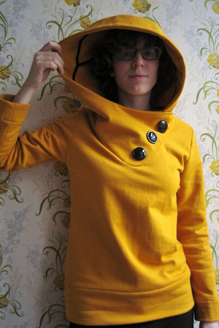 fall hoodie sewing pattern