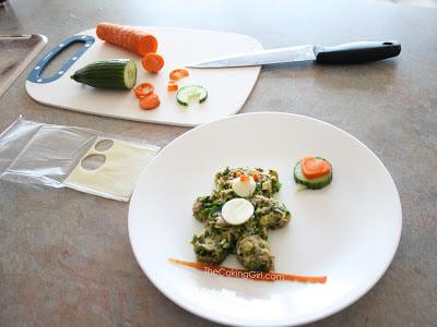 how to make bento food art